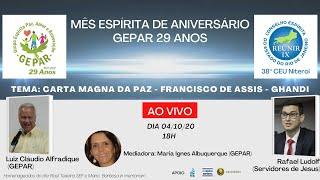Carta Magna da Paz - Francisco de Assis e Gandhi - 04/10/2020