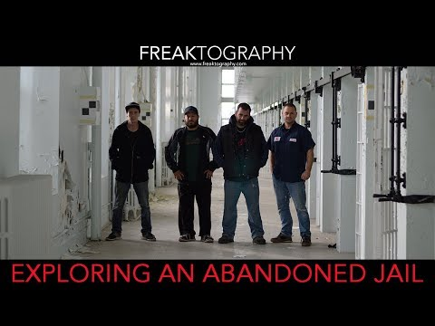 Exploring an old Abandoned Prison - Urban Exploring Video
