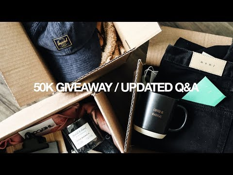 50K GIVEAWAY / UPDATED Q&A: CAREER, RELATIONSHIPS, MOTIVATIONAL TIPS