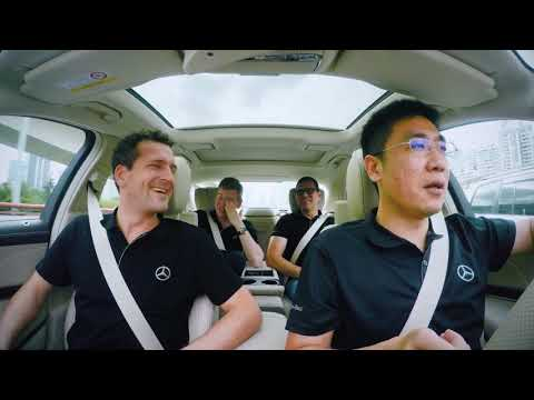Mercedes Benz Intelligent World Drive – Shanghai