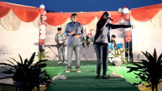 yeh pal song performance at college farewell in shobhit university
