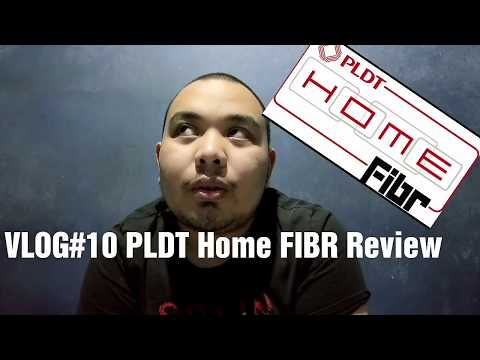 VLOG#10 PLDT Home FIBR Review
