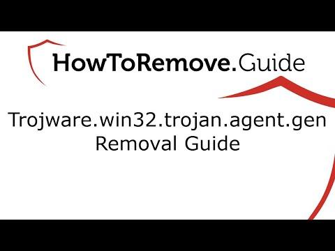 TrojWare.Win32.Trojan.Agent.Gen Removal