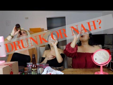 DRUNK MAKEUP CHALLENGE FAIL...WE GOT TOO TURNT