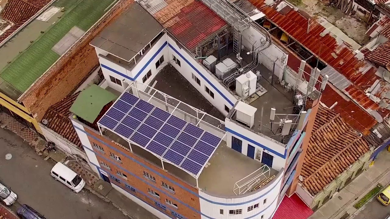 Proyecto Energía Solar - Fundación Ciudad refugio