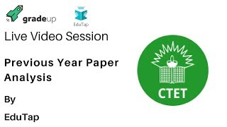 Live Video Session on Previous Year Paper Analysis by Edutap.