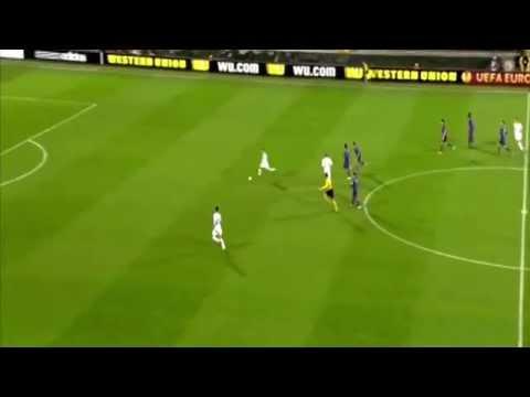 Roberto Soldado RUINS MISSES AMAZING CHANCE Fiorentina vs Tottenham Spurs HD