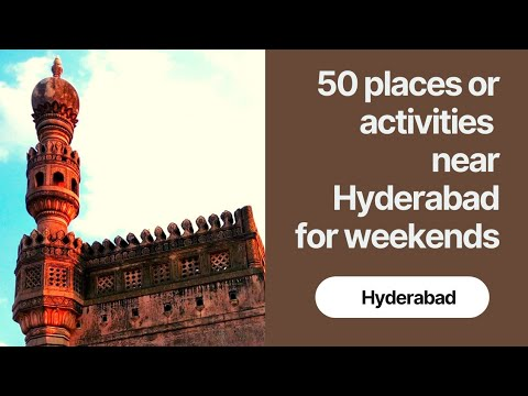 50 places for adventure activities in and around Hyderabad | Things to do in Hyderabad