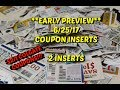 **EARLY PREVIEW**  6/25/17 COUPON INSERTS.....Good Colgate coupons!