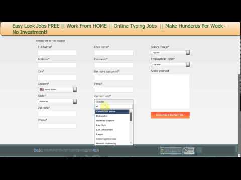 Online Jobs Search || Make Hunderds Per Week -No Investment!