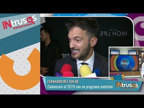 Fernando del Solar comenzará el 2019 con programa matutino | INtrusos