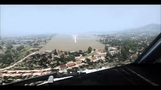 [FSX] Landing at Bilbao Airport - Fly UK Virtual -