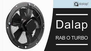 Dalap RAB O Turbo ipari ventilátor bekötési útmutató