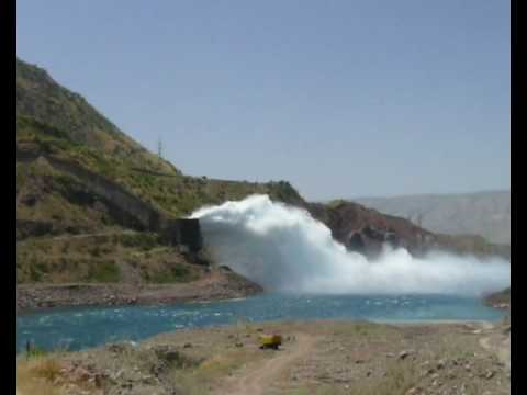 The Nurek Dam, Tajikistan - the tallest dam in the world!