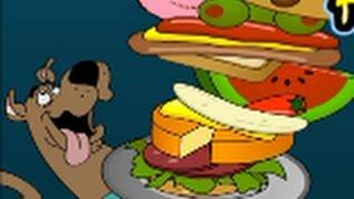 Мега сандвіч і Скубі Ду. Гра мультик. Mega Sandwich and Scooby Doo. Kids games. Дитяче тб.