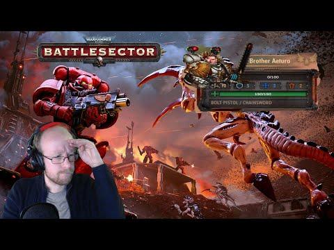 Warhammer 40,000 Battlesector Brother Aeturo |