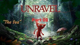 """Unravel™_Прохождение. Часть 2. """"The Sea"""""""