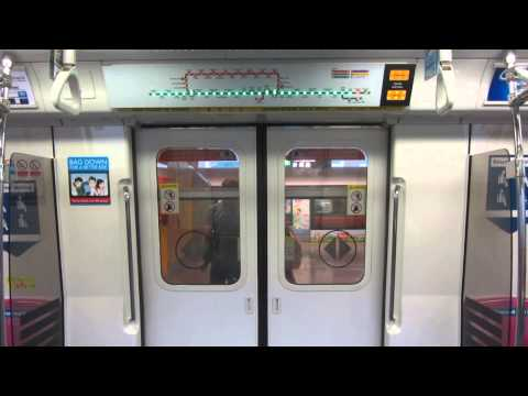 SMRT Kawasaki Heavy Industries/Nippon Sharyo C751B - Doors Opening and Closing