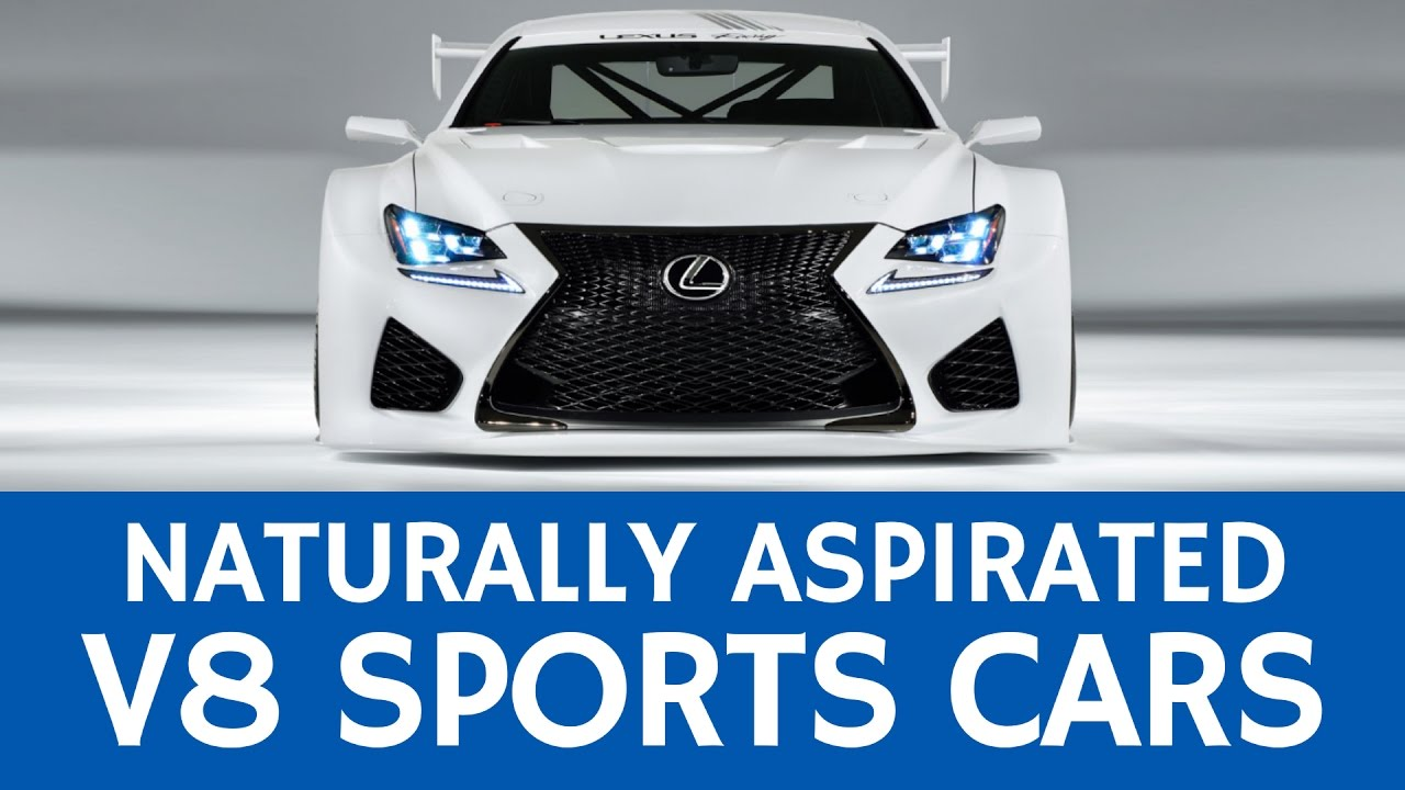 7 Loud Sports Cars With Naturally Aspirated 6 Cylinder And V8 Engines