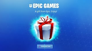 HOW TO GET A FREE GIFT IN FORTNITE! (What Do You Get?)