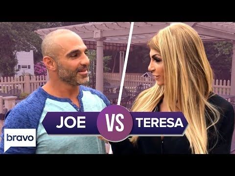 Teresa & Joe Gorga's Most Memorable Sibling Moments | Real Housewives Of New Jersey | Bravo