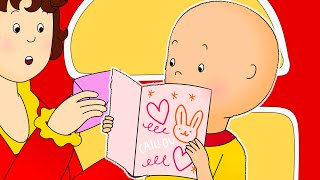 Funny Animated cartoons Kids 📨 A letter for Caillou 📨 WATCH ONLINE | Cartoons for Children