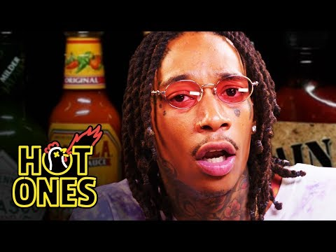 Wiz Khalifa Gets Smoked Out By Spicy Wings | Hot Ones