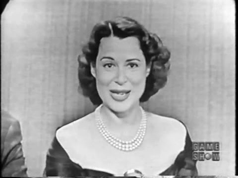 To Tell the Truth - Kitty Carlisle's first show! (Mar 5, 1957)