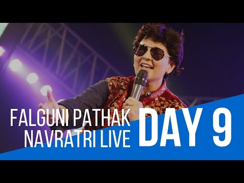 Pushpanjali Navratri with Falguni Pathak : Day 9