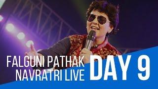 Pushpanjali Navratri with Falguni Pathak : Day 9