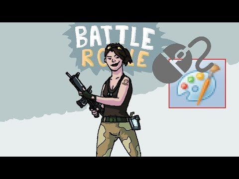 fortnite drawing in ms paint with mouse - latwe rysunki z fortnite