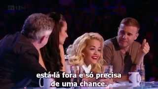 Kye Sone - Swedish House Mafia/Rita Ora mash-up (Audition - The X Factor UK 2012) [Legendado PT/BR]
