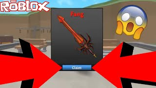 *NEW* FANG MYTHIC KNIFE! *WORTH IT* (ROBLOX ASSASSIN BEST NEW KNIFE IN THE GAME!)