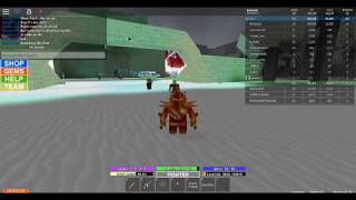 Roblox Field Of Battle Event: Someone using his crossbow and shooting rapidly