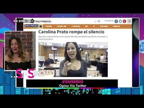 La rivalidad entre Carolina Prato y Anita González