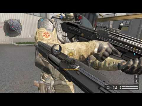 Warface: КВ на карте Объект Д17 с DP-12