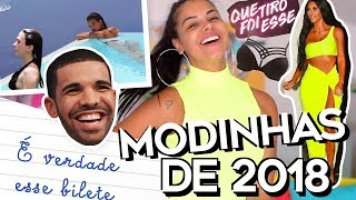 MODINHAS DE 2018