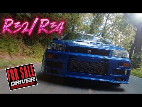 1990 Nissan Skyline R32/R34 GTR - YouTube