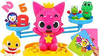 Pinkfong talking Numbers Game! Let's play a fun number game with Baby Shark! | PinkyPopTOY