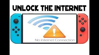 Unlock the hidden Internet Browser on Your Nintendo Switch 5.0.2
