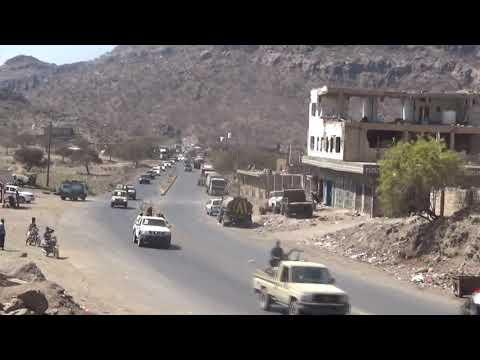 نائب رئيس المجلس الانتقالي يتفقد المواقع المتقدمة لجبهات القتال على حدود محافظة الضالع