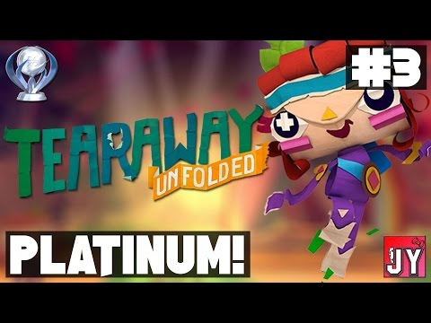 [71%] Chapter 3A - Maypole Fields! ~ Road to Platinum! [PS4] Tearaway Unfolded