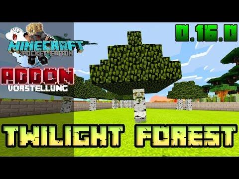 ☢ Minecraft PE MOD 0.16.1 - Twilight Forest Addon Review MCPE Deutsch - Cloud Crafter