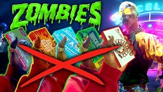 Zombies in Spaceland No Perk Challenge (Call of Duty Zombies: Infinite Warfare)