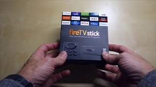 Amazon Fire TV Stick Unboxing, Setup, and First Impressions