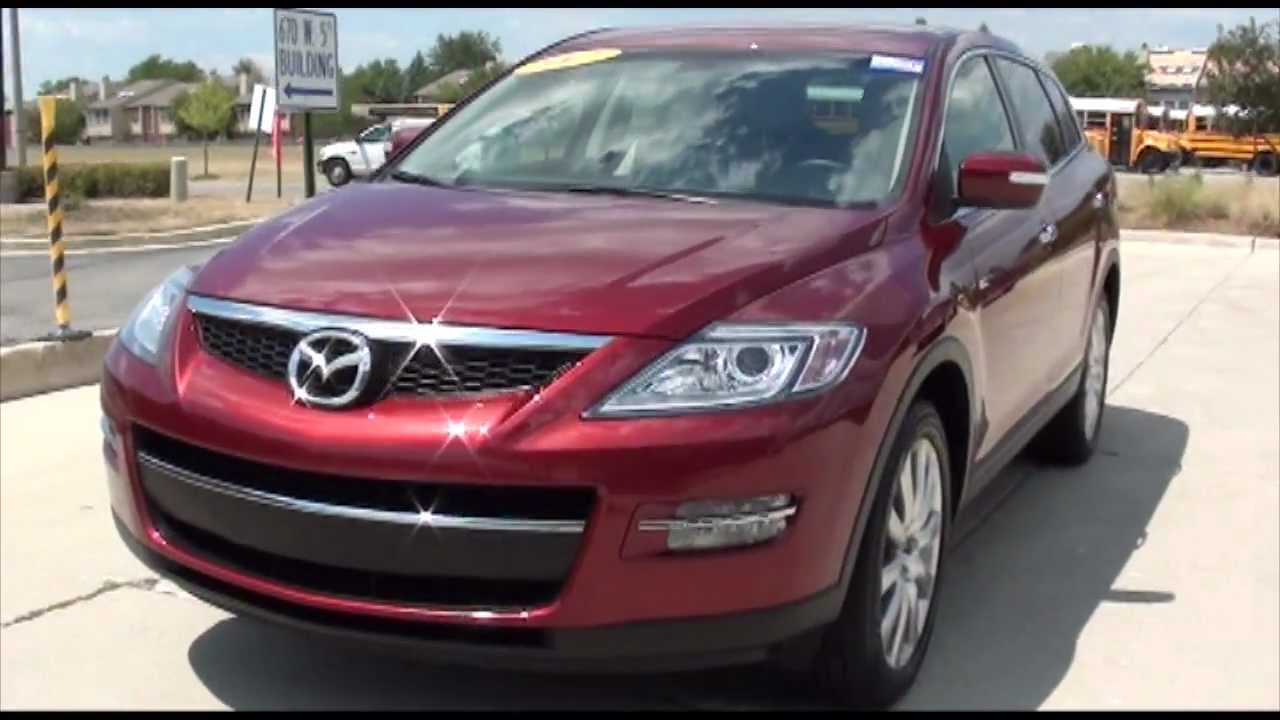 2007 Mazda CX 9 Grand Touring NAVI DVD Excellence Cars Direct Naperville  Chicago IL