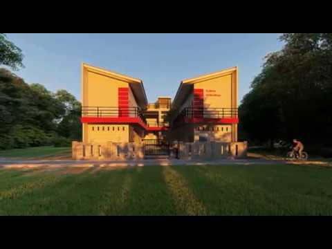 desain rumah kost 2 lantai murah - youtube
