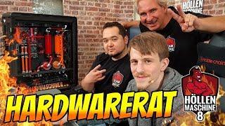 WIR WERDEN GEGRILLT!!! Hardwarerat nimmt die Höllenmaschine 8 auseinander | #Gaming-PC