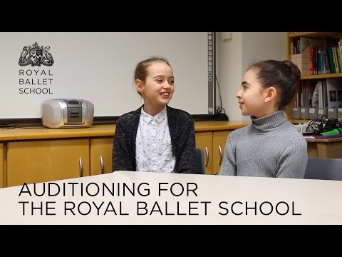 Auditioning for The Royal Ballet School
