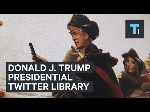 Inside The Daily Show's Library Of Donald Trump's Tweets
